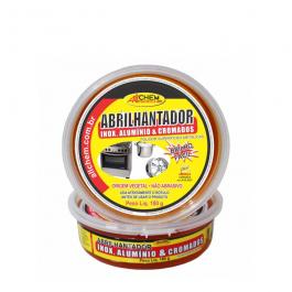 Imagem - Abrilhantador Inox, Alumunio e Cromados 180gr - Allchem Quimica cód: 35