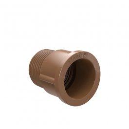 Imagem - Adaptador Soldável Curto Bolsa e Rosca Para Registro 40 mm x 1.1/2