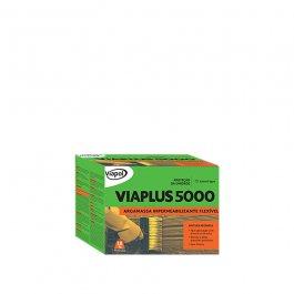 Imagem - Argamassa Impermeabilizante Flexível Viaplus 5000 18kg Ref V0216997 - Viapol cód: 124457