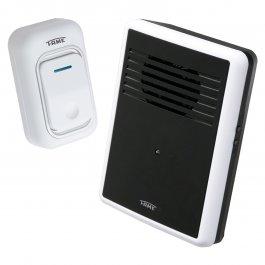 Imagem - Campainha Polifônica Wireless Digital Com Controle Remoto Bivolt Ref 3298 - Fame cód: 127870