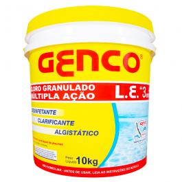 Imagem - Cloro Gran Multacao 3 Em1 10kg - Genco cód: 113071