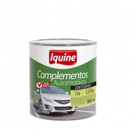 Imagem - Complementos Automotivos Massa Rapida Cinza 1,25kg - Iquine cód: 4989