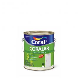 Imagem - Tinta Acrílica Azul Arpoador Fosco Econômica 3,6l - Coralar Coral cód: 111246