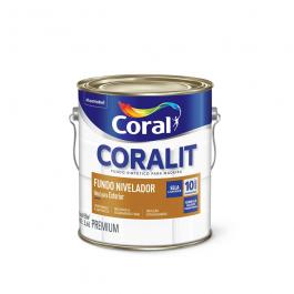 Imagem - Fundo Nivelador Branco Fosco Premium 3,6l - Coralit Coral cód: 3752