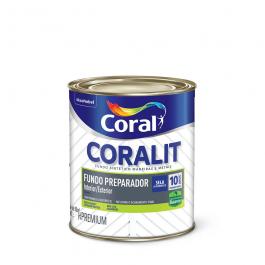 Imagem - Fundo Preparador Branco Fosco Premium 900ml - Coralit Coral cód: 3745