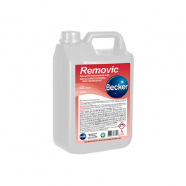 Imagem - Detergente Desincrustante Acido Removic 5l - Becker cód: 127578