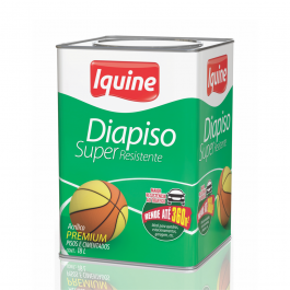 Imagem - Tinta Acrílica Verde Folha Fosco Premium 18l - Diapiso Iquine cód: 2670