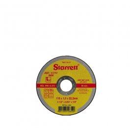 Imagem - Disco de Corte Aço Inox 115 mm x 1,00 mm x 22,23 mm 4.1/2