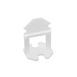 Imagem - Espaçador Para Nivelamento de Piso e Revestimento 1,0mm Com 100 Peças Ref 400230 - Fortlev cód: 130765