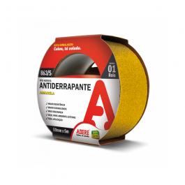 Imagem - Fita Antiderrapante Amarela 50mmx5m Ref 863/s - Adere cód: 113320