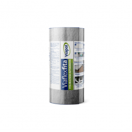 Imagem - Fita Multiuso Autoadesiva Sleeve 30cm x 1mt Viaflex Ref V0616990 - Viapol cód: 124459