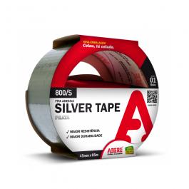 Imagem - Fita Silver Tape Prata 45mmx5m Ref 800/s - Adere cód: 113315