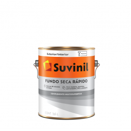 Imagem - Fundo Preparador Branco Seca Rápido Base Água 3,6 l- Suvinil cód: 108655