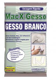 Imagem - Gesso Branco 1kg - Macxcola cód: 128664