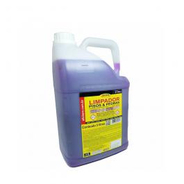 Imagem - Limpador Pisos e Pedras Detergente Desincrustante Acido Aditivado 5l - Allchem Quimica cód: 4523
