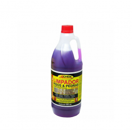 Imagem - Limpador Pisos e Pedras Detergente Desincrustante Acido Aditivado 950ml - Allchem Quimica cód: 4524