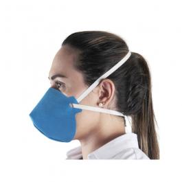 Imagem - Máscara de Proteção Tripla Reutilizável Azul Ref Op95c19 - Ortho Pauher cód: 131712