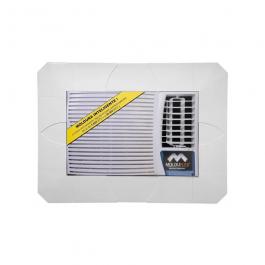 Imagem - Moldura Para ar Condicionado Branco Regulável de 5.600 a 30.000btus - Molduflex cód: 112324
