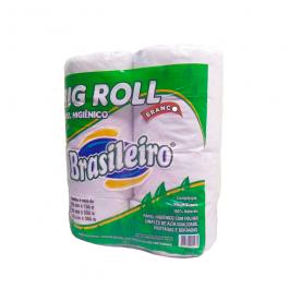 Imagem - Papel Higienico Big Roll Branco 8x200 - Brasileiro cód: 123245
