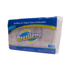 Imagem - Papel Interfolhado Creme 400 Folhas - Brasileiro cód: 123250