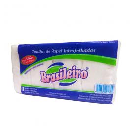Imagem - Papel Toalha Interfolhado Hexa 100% C/500 Fls - Brasileiro cód: 123248