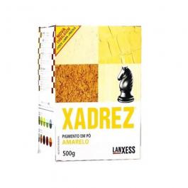 Imagem - Pigmento em pó Xadrez Amarelo Para Tinta 500g - Lanxess cód: 119407