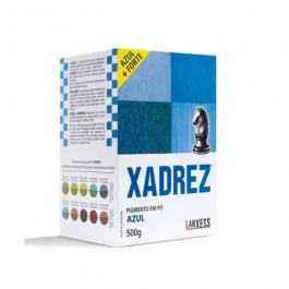 Imagem - Pigmento em pó Xadrez Azul Para Tinta 500g - Lanxess cód: 119411