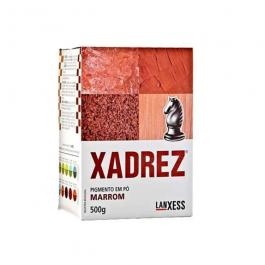 Imagem - Pigmento em pó Xadrez Marrom Para Tinta 500g - Lanxess cód: 119412