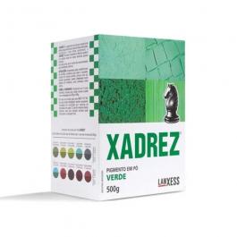 Imagem - Pigmento em pó Xadrez Verde Para Tinta 500g - Lanxess cód: 8194