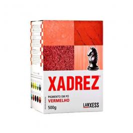 Imagem - Pigmento em pó Xadrez Vermelho Para Tinta 500g - Lanxess cód: 119413