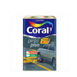 Imagem - Tinta Acrílica Concreto Fosco Premium 18l - Pinta Piso Coral cód: 2277