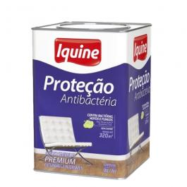 Imagem - Tinta Acrílica Branco Neve Semibrilho Premium - Proteção Antibactéria Iquine cód: 2679