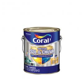 Imagem - Tinta Acrílica Branco Alto Desempenho 3,6l - Proteção Sol & Chuva Coral cód: 121261