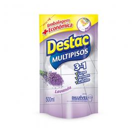 Imagem - Refil Limpa Piso Destac Multipisos Diluível Lavanda 500ml - Reckitt cód: 127878