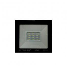 Imagem - Refletor Led Smd 30w 6500k Branca 170x150x30mm Ref 2140 - Nitrolux cód: 123061