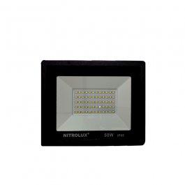 Imagem - Refletor Led Smd 50w 6500k Branca 205x160x30mm Ref 2137 - Nitrolux cód: 123062
