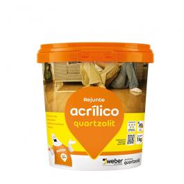 Imagem - Rejunte Acrílico Cinza Platina 1kg - Quartzolit cód: 109160