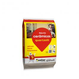 Imagem - Rejunte Cerâmicas Flexível Caramelo 5kg - Quartzolit cód: 6243