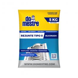 Imagem - Rejunte Siliconado Platina 5kg - do Mestre cód: 129632