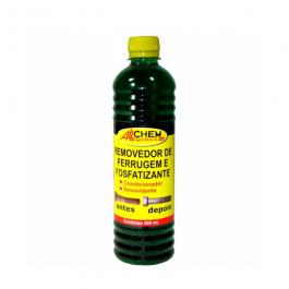 Imagem - Removedor de Ferrugem e Fosfatizante 500ml- Allchem Quimica cód: 6285