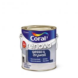 Imagem - Renova Gesso & Drywall Branco 3.6l - Coral cód: 2139