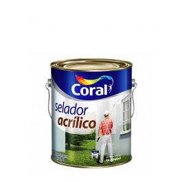 Imagem - Selador Acrílico Branco 3,6l - Coral cód: 6630
