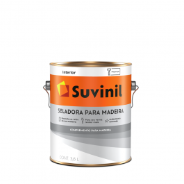 Imagem - Seladora Para Madeira Incolor 3,6l - Suvinil cód: 108693