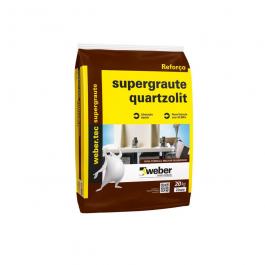 Imagem - Supergraute Cinza 25kg - Quartzolit cód: 3839