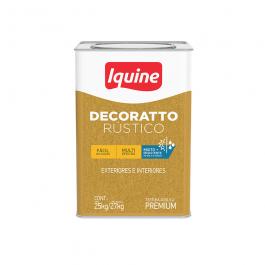 Imagem - Textura Premium Branco 29kg - Decoratto Rústico Iquine cód: 3946