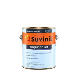 Imagem - Tinta Acrílica Branco Neve Semibrilho Premium 3,6l - Toque de Luz Suvinil cód: 108611