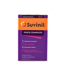 Imagem - Tinta Acrílica Gelo Fosco Premium 18l - Fosco Completo Suvinil cód: 108609