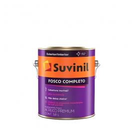 Imagem - Tinta Acrílica Gelo Fosco Premium 3,6l - Fosco Completo Suvinil cód: 108608
