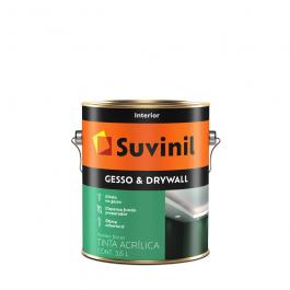 Imagem - Tinta Acrílica Gesso & Drywall 3,6l - Suvinil cód: 108816