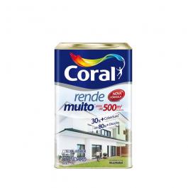 Imagem - Tinta Acrílica Perola Fosco Standard 18l - Rende Muito Coral cód: 6335